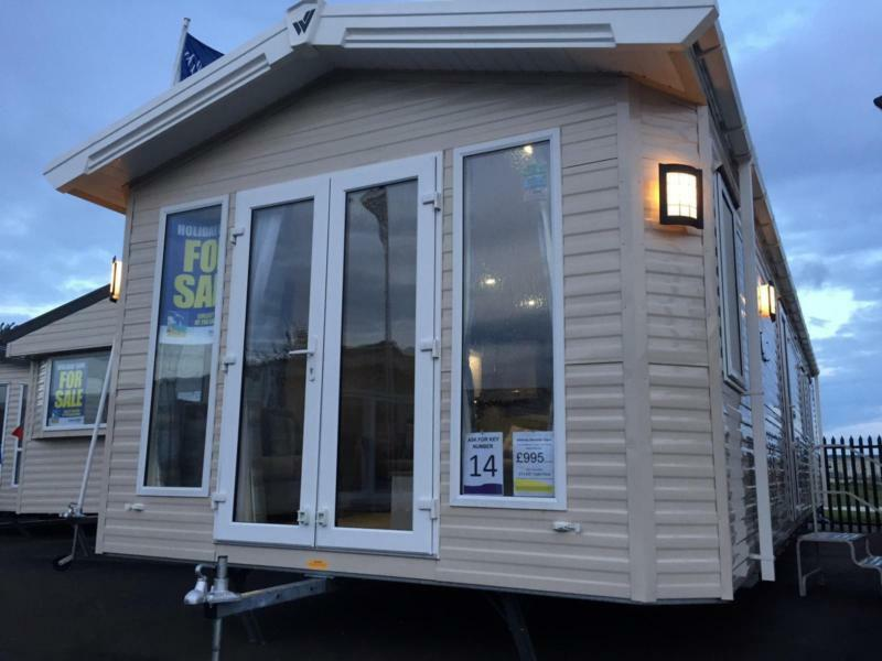 Static Caravan Whitstable Kent 2 Bedrooms 6 Berth Willerby Sheraton 2017 Seaview