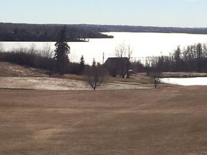 Pine Lake unobstructed lake and golf course view building lot