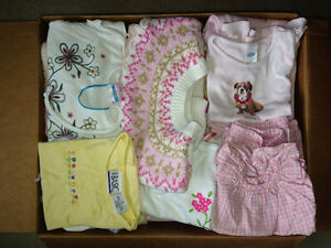 6 mos to 3 years Girls Clothing Lot