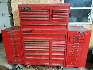 Gray Tools  Roller cabinet with side lockers