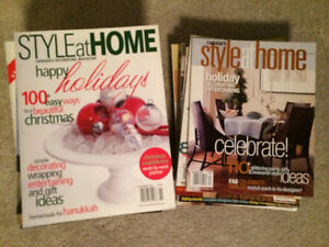 Style at Home Magazines