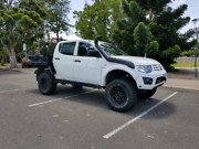 2013 turbo diesel triton, 33s, 4 inch lift, tuned, exhaust.  Swap Ingleburn Campbelltown Area Preview