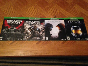 Gears & Halo games