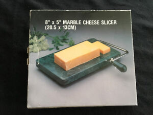 """Marble Cheese Slicer """"Never Used"""""""