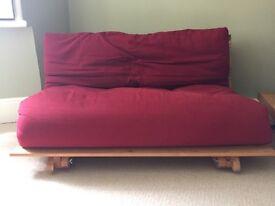 Double Futon Company wooden futon