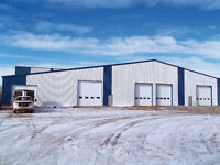 50'W x 80'L Insulated Shop - Top Quality Work