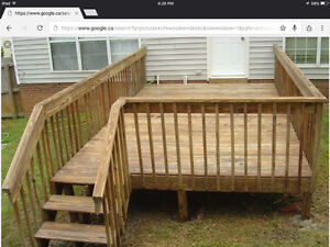 DECKS,FENCE AND RAILING