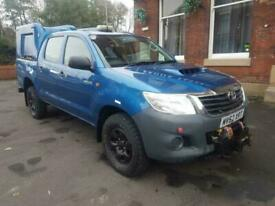 2012 62 TOYOTA HI-LUX HL2 DOUBLE CAB 4X4 UTILITY D4D TDI WITH AIR CONIDTIONING A