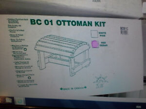wooden ottomen kits $20. each Sarnia Sarnia Area image 2