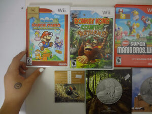 Sort # : 316 - Lot de jeux Wii