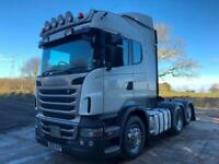 2011 Scania R440 6x2 rear lift tractor unit, highline, manual gearbox, slider