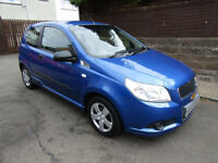 2010 (60) Chevrolet Aveo 1.2 S 3 Door Hatchback Petrol Manual