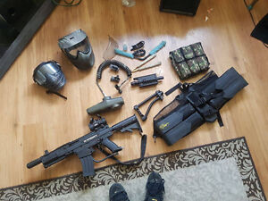 Complete Paintball Package X7 Phenom with mods and more