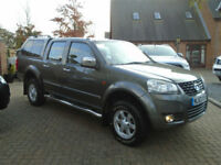 2013 63 Reg Great Wall Steed 2.0TD 4X4 SE NO VAT (33000 Miles)