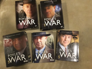 FOYLES WAR DVD COMPLETE SETS 1-5