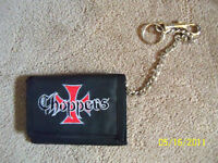 Choppers Wallett with chain