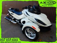 2012 Can-Am SPYDER RS SE5 53,78$/SEMAINE