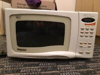 Hotpoint microwave for sale!