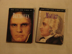 MOZART & BEETHOVEN these are for the Classical Music Lover Belleville Belleville Area image 1