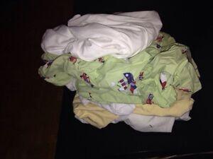 Lot drap contour bassinette lit bébé
