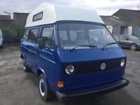 Volkswagen T25 CAMPER VAN , 4 BERTH , FULL MOT , JUST HAD FULL RESPRAY ,