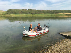Mariner Boat W Electric Motor AND Accessories
