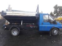 Single Cab, Ford Transit 350 mwb 3 way Tipper (2004)