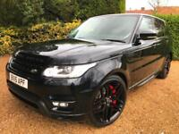 RANGE ROVER SPORT 3.0 SDV6 ( 306bhp ) HSE AUTOBIOGRAPHY LOOKS STEALTH PACK