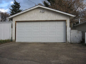 Double Car Garage for Rent--Available Immediately