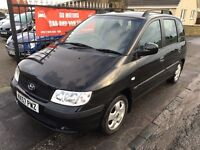 HYUNDAI MATRIX 1.6 (57) MOT SEPTEMBER 17, WARRANTY £850