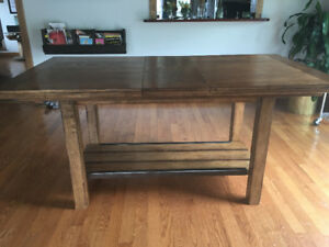 Beautiful Rustic Counter Height Table