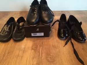 Jazz and tap shoes