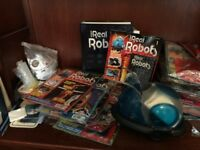 Complete build your own robot magazine series (partially completed)