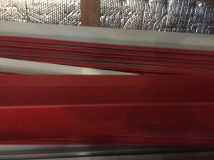 Moulures de départ en métal pour bordure de toit