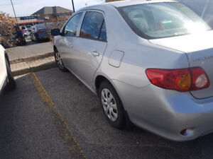Toyota Corolla  2009 low km.great condition.etested $.4950