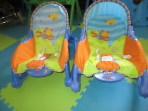 FISHER PRICE Infant to Toddler Rockers $10 each $10 each