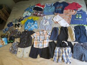 Over 35 Summer clothes for boys (2T-3T)