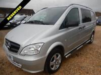 2011 61 MERCEDES-BENZ VITO DUALINER COMPACT 2.1 CDI 73,374 MILES ONLY DIESEL