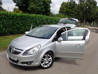 2007 Vauxhall Corsa 1.2i 16v 5dr SXI***8 SERVICE STAMPS + LOW MILES 87K***