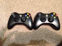 Original wireless Xbox 360 controllers