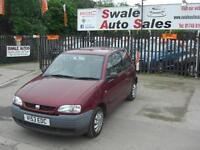 2000 SEAT AROSA MPi 1L ONLY 75,473 MILES, FULL SERVICE HISTORY, IDEAL 1ST CAR