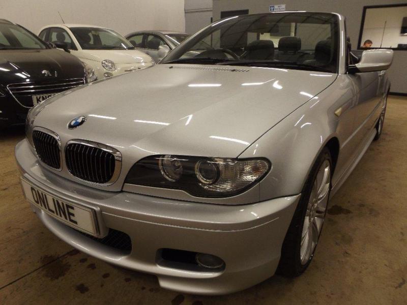 BMW 3 SERIES 325CI M SPORT, Silver, Auto, Petrol, 2006