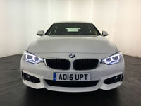 2015 BMW 420D GRAN COUPE M SPORT AUTOMATIC 1 OWNER SERVICE HISTORY FINANCE PX