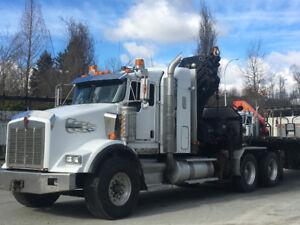 Hiab crane truck for sale