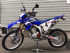Yamaha WR250R well equipped street and dirt