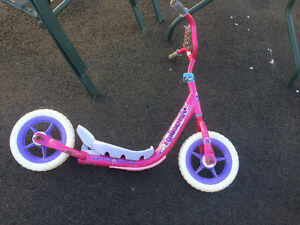 Girl Pink Scooter
