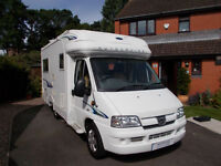 Autocruise Starspirit 2 berth motorhome with rear u shape lounge