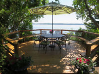 Tranquil Stunning Lake Simcoe Waterfront Property for Rent