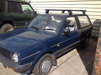 Volkswagen Polo Estate Breadvan Mk2
