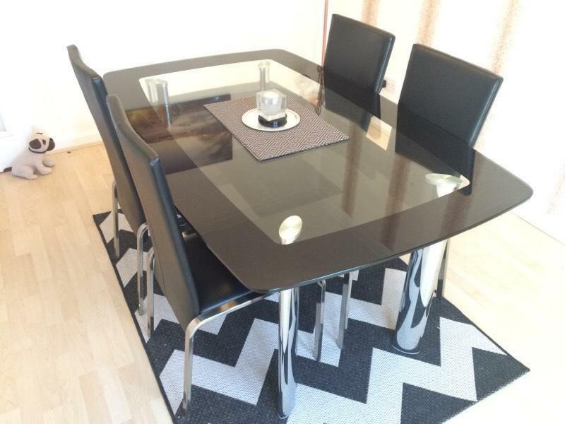 dining table and chairs in bargeddie glasgow gumtree